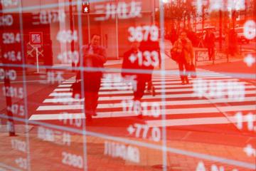Chứng khoán châu Á tăng nhờ lực đẩy từ thị trường Trung Quốc