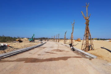 Phát Đạt sắp hoàn thành hạ tầng phân khu số 4 Khu đô thị du lịch sinh thái Nhơn Hội