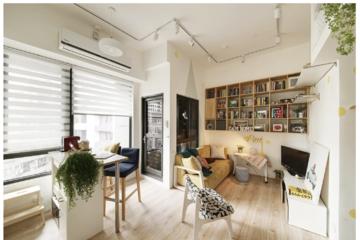 [Ảnh] Ngôi nhà 33 m2 rộng và thoáng bất ngờ sau cải tạo