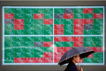 Chứng khoán châu Á giảm, cổ phiếu đất hiếm 'nhảy vọt'