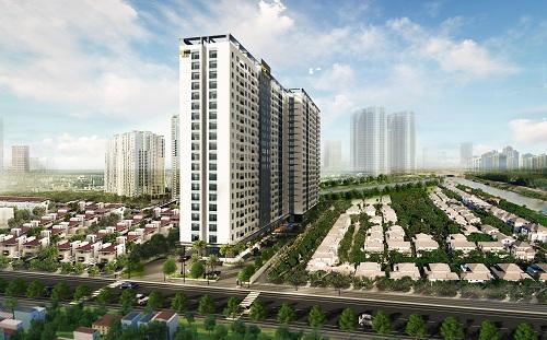 Doanh nghiệp Sài Gòn đua xây căn hộ tại Bình Dương