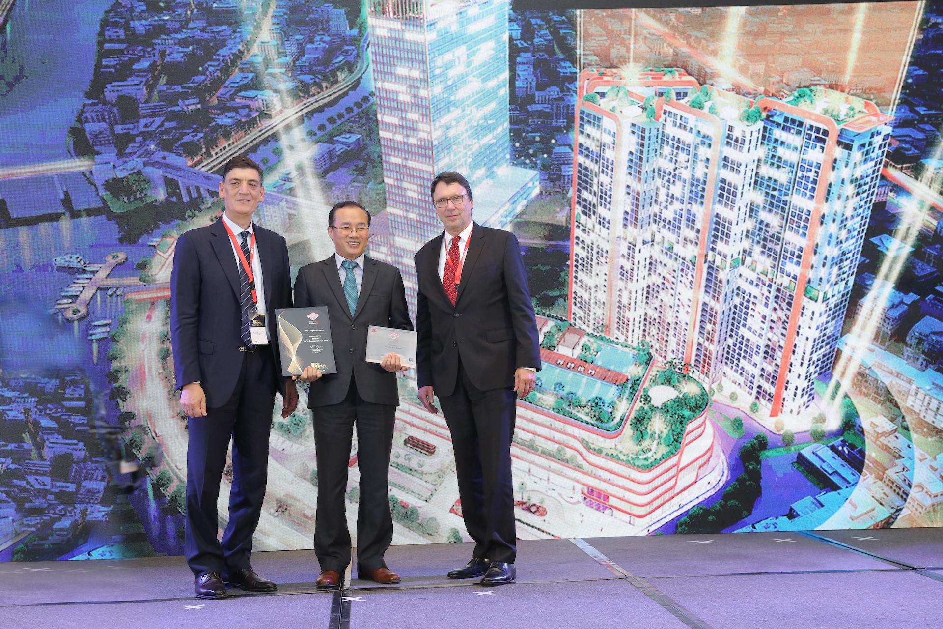 Phú Long nhận giải thưởng khu vực châu Á - BCI Asia Top 10 Awards