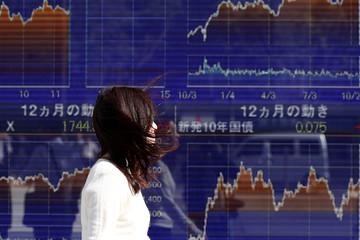 Giới đầu tư tiếp tục bán tháo chứng khoán châu Á
