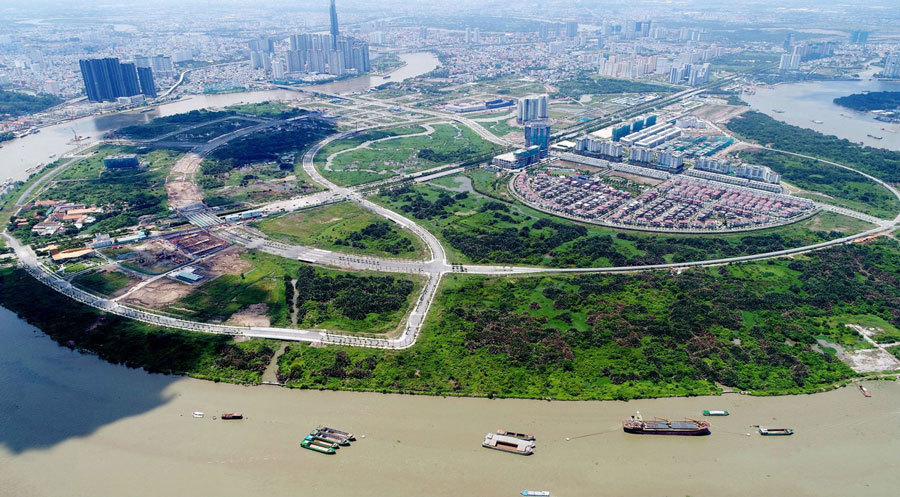 TP HCM sắp đấu giá 9 lô đất 'vàng' ở Thủ Thiêm