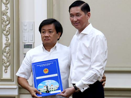 Ông Đoàn Ngọc Hải từ chức Phó Tổng giám đốc Công ty Xây dựng Sài Gòn