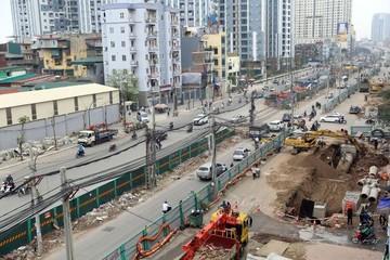 Hà Nội dự kiến hoàn thành đường vành đai 2 Ngã Tư Sở - Ngã Tư Vọng trong năm 2019