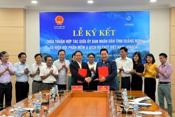VINASA và UBND Quảng Ninh ký thỏa thuận hợp tác về công nghệ thông tin