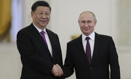 Nga - Trung nâng cấp quan hệ lên đối tác chiến lược toàn diện