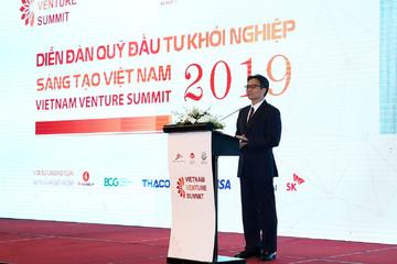 Phó Thủ tướng Vũ Đức Đam: 'Không để startup Việt phải ra nước ngoài lập công ty vì quy định chưa tốt'