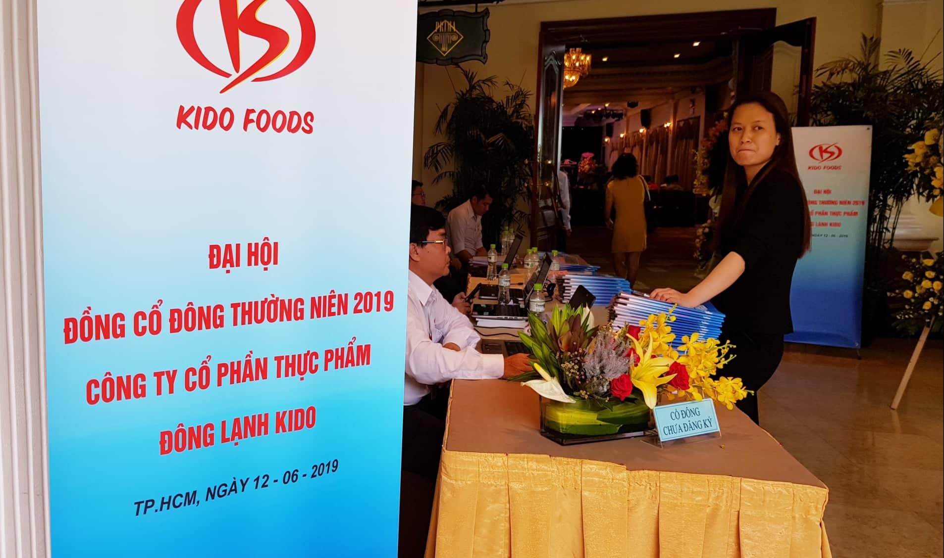 Họp ĐHĐCĐ KIDO Foods: 5 tháng lãi hơn 4 lần cùng kỳ, tăng cổ tức lên 14%