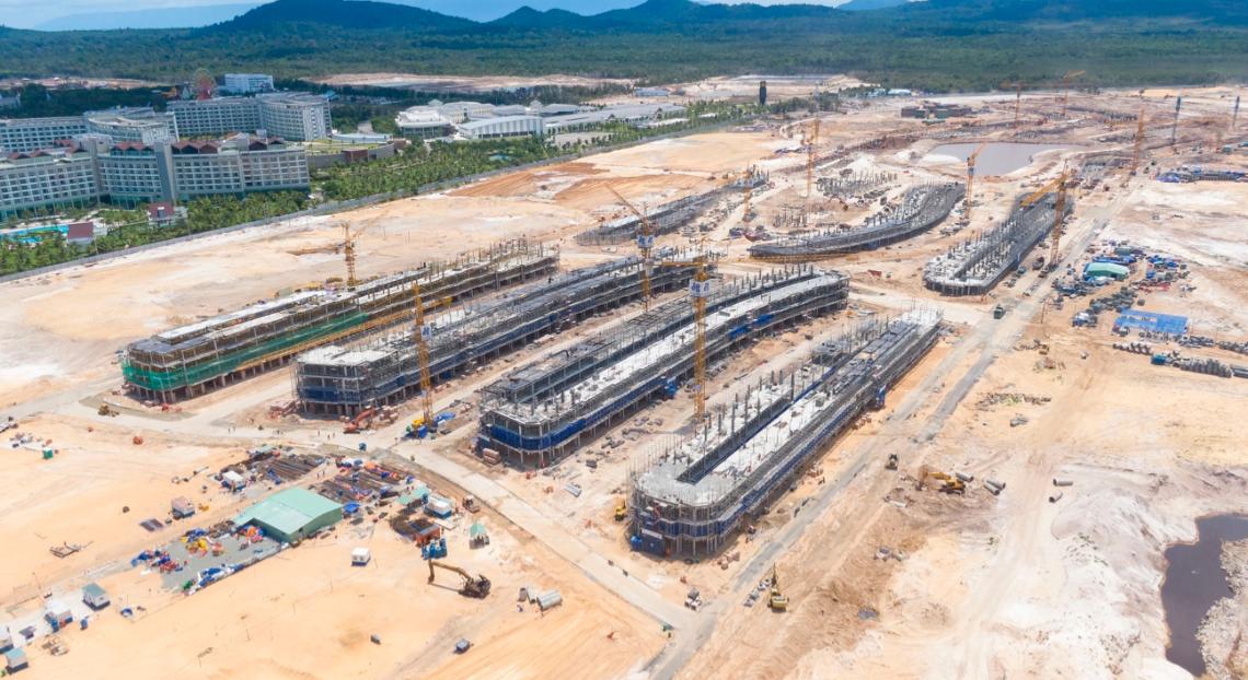 [Ảnh] Bên trong siêu dự án 85,1 ha nằm kế cận casino Phú Quốc