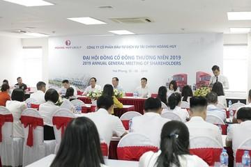 Tài chính Hoàng Huy kế hoạch lãi tăng gấp rưỡi trong năm 2019