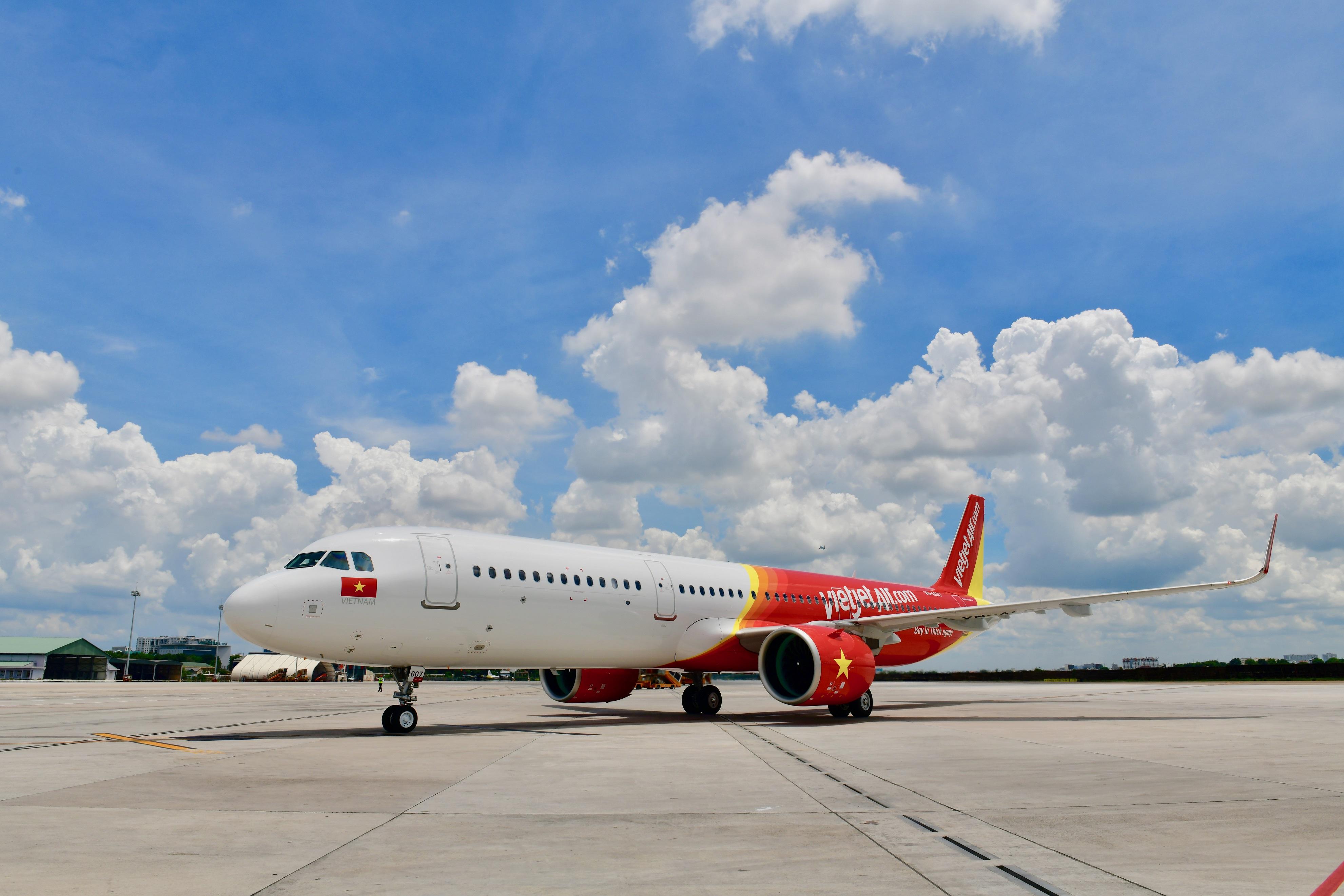 Vietjet mở bán một triệu vé máy bay giá từ 0 đồng