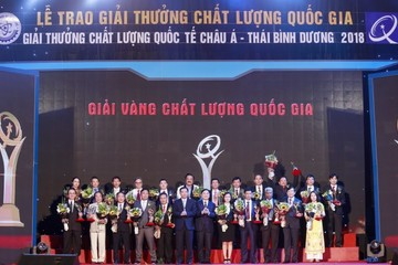 Tập đoàn An Phát đạt giải vàng chất lượng quốc gia
