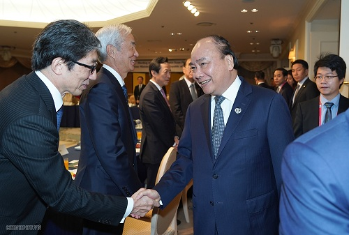Các tập đoàn Nhật đề xuất với Thủ tướng nhiều cơ hội hợp tác tại Việt Nam