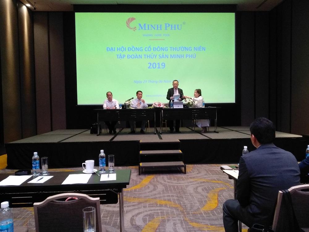 Họp ĐHCĐ Minh Phú: Nuôi tôm công nghệ bị chậm, từ 2021 chia cổ tức 70% theo cam kết với Mitsui