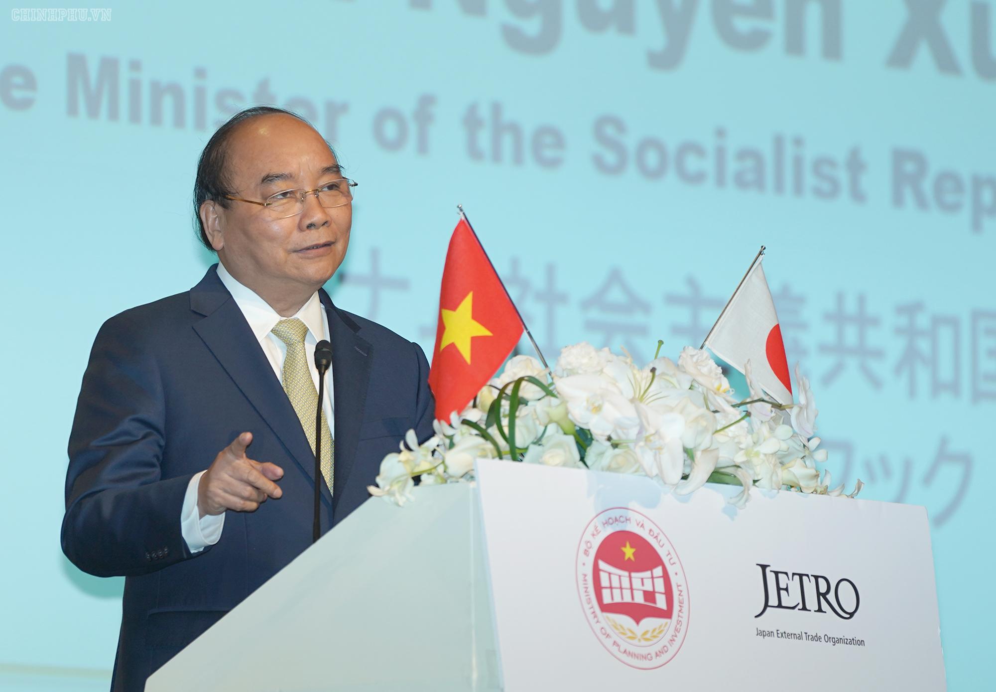 Thủ tướng khuyến khích DN Nhật đầu tư vào điện sạch, bất động sản, logistics...