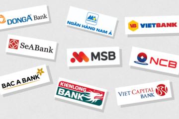 Những ngân hàng không cổ đông ngoại