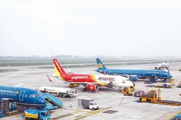 Ngột ngạt thị trường hàng không nội địa