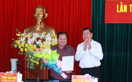 Phó Chủ tịch Lữ Quang Ngời phụ trách UBND tỉnh Vĩnh Long