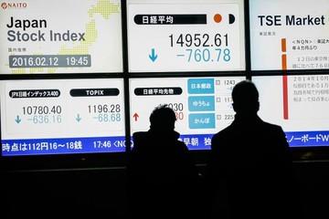 Hàn Quốc hạ mục tiêu tăng trưởng, chứng khoán châu Á giảm
