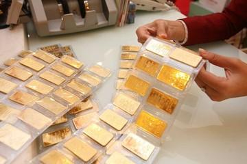 Sau khi bật tăng kỷ lục chạm 39,7 triệu/lượng, vàng SJC lại giảm