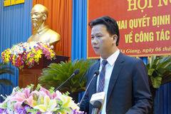 Ông Đặng Quốc Khánh làm Bí thư Tỉnh ủy Hà Giang