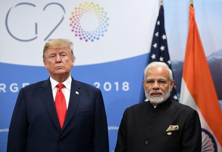Trump: Mỹ cần đối phó Ấn Độ trong thương mại