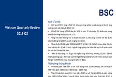 BSC: Báo cáo vĩ mô và thị trường chứng khoán quý II