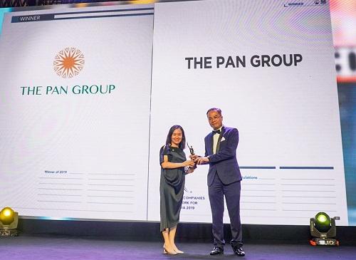 Tập đoàn PAN là một trong những nơi làm việc tốt nhất châu Á 2019