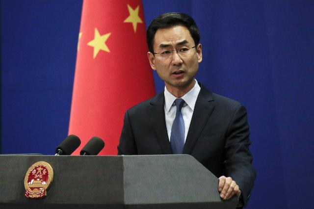 Người phát ngôn Bộ Ngoại giao Trung Quốc Geng Shuang. Ảnh: SCMP.