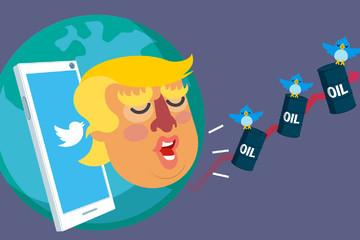 Những 'cú tweet' của Trump ảnh hưởng thế nào đến giá dầu