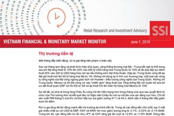 SSI Retail Research: Báo cáo thị trường tài chính tiền tệ Việt Nam tháng 5/2019