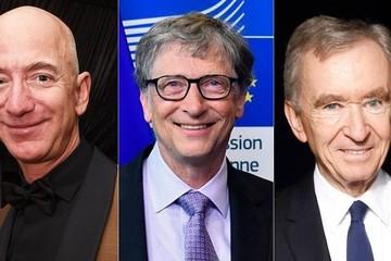 Bill Gates bị tỷ phú hàng hiệu Pháp 'soán ngôi' giàu thứ nhì thế giới