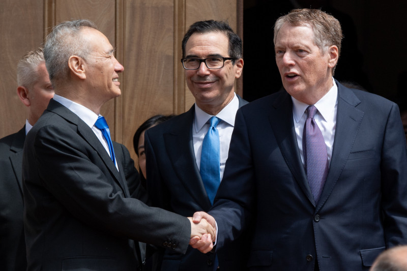 Mỹ - Trung điện đàm về thương mại, có thể sắp gặp trực tiếp