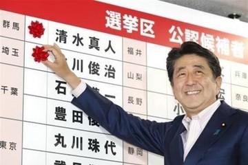 Đảng cầm quyền chiến thắng trong bầu cử Thượng viện Nhật Bản