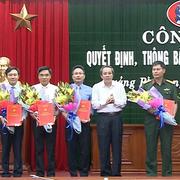 Quảng Bình điều động, bổ nhiệm hàng loạt lãnh đạo chủ chốt
