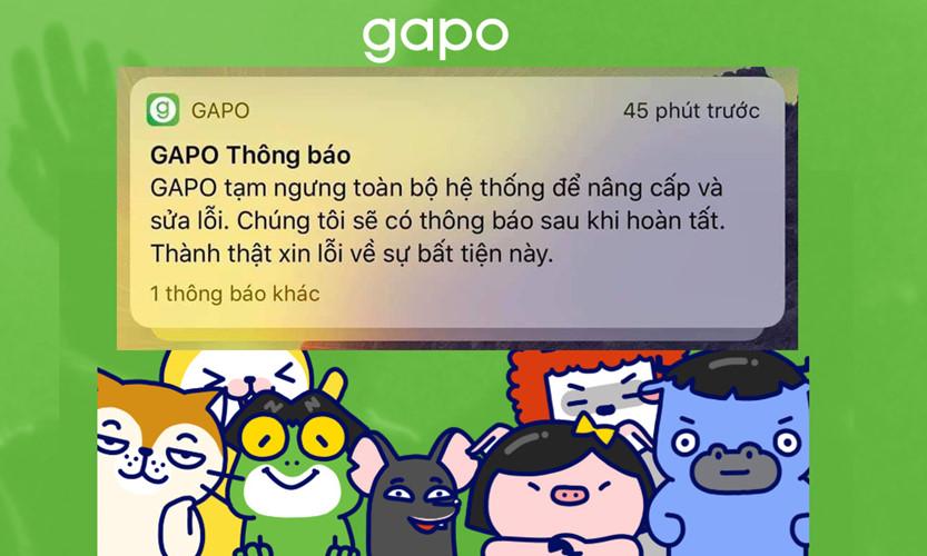 Mạng xã hội Gapo gặp nhiều lỗi, phải ngưng hoạt động để bảo trì ngay ngày đầu ra mắt