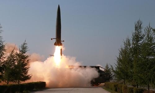 Triều Tiên phóng tên lửa tầm ngắn