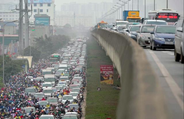 Hà Nội dự kiến thu phí ôtô từ ngoài vành đai 3 vào nội thành