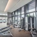 <p> Phòng gym.</p>