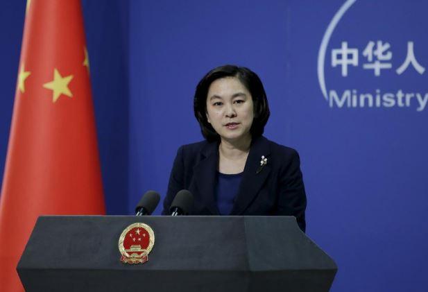 Người phát ngôn Bộ Ngoại giao Trung Quốc Hua Chunying. Ảnh: Reuters.