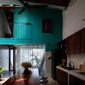 <p> Tầng 3 cũng được thiết kế thêm một gác lửng. Toàn bộ không gian ở tầng này như một công trình nhà ở riêng biệt.</p>