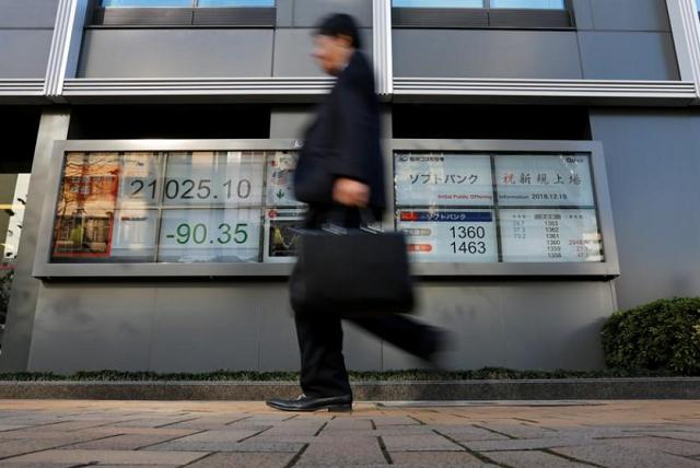 Chứng khoán châu Á giảm sau loạt tín hiệu tiêu cực
