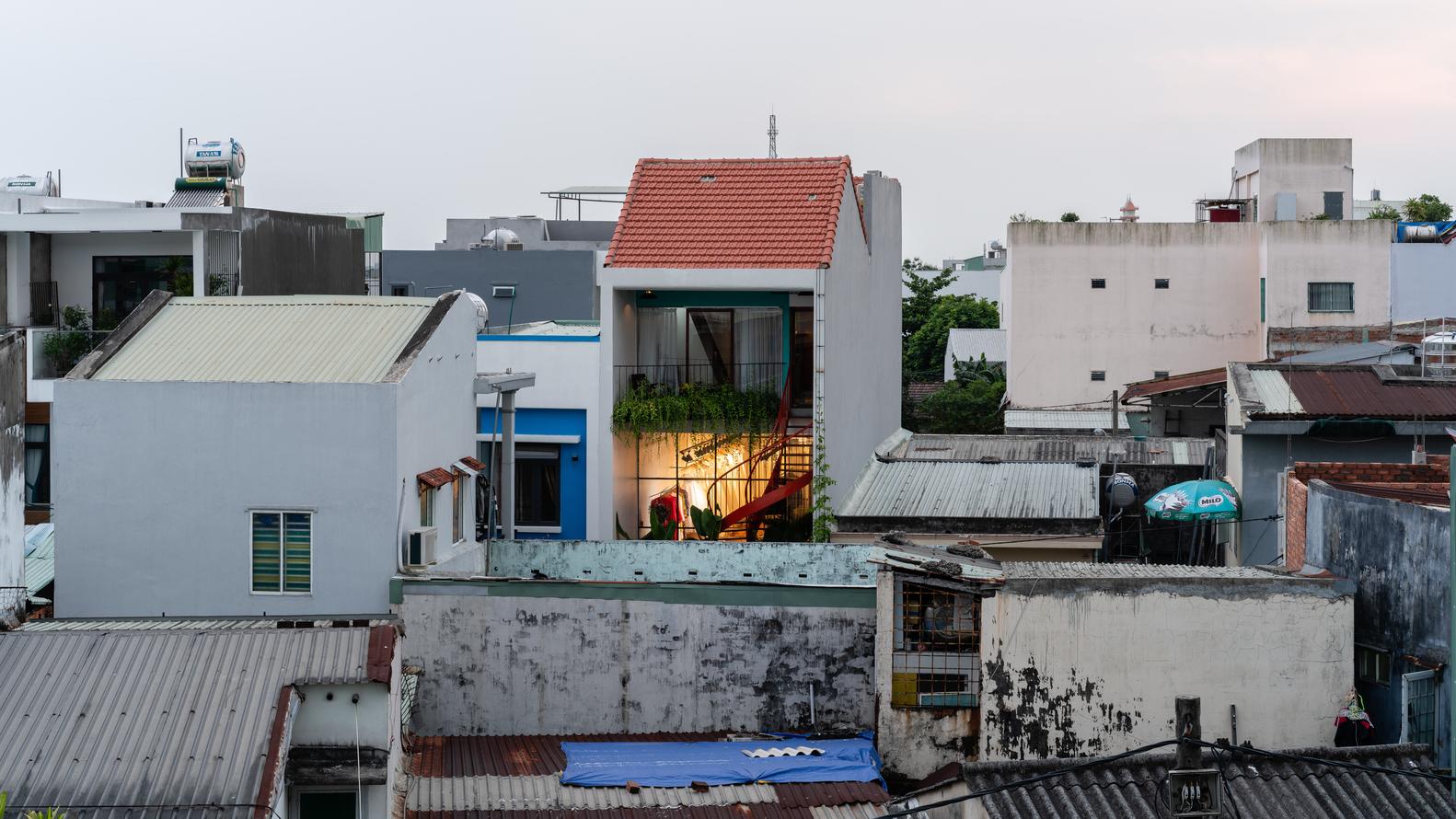 Bên trong ngôi nhà 75 m2 đa chức năng ở Đà Nẵng