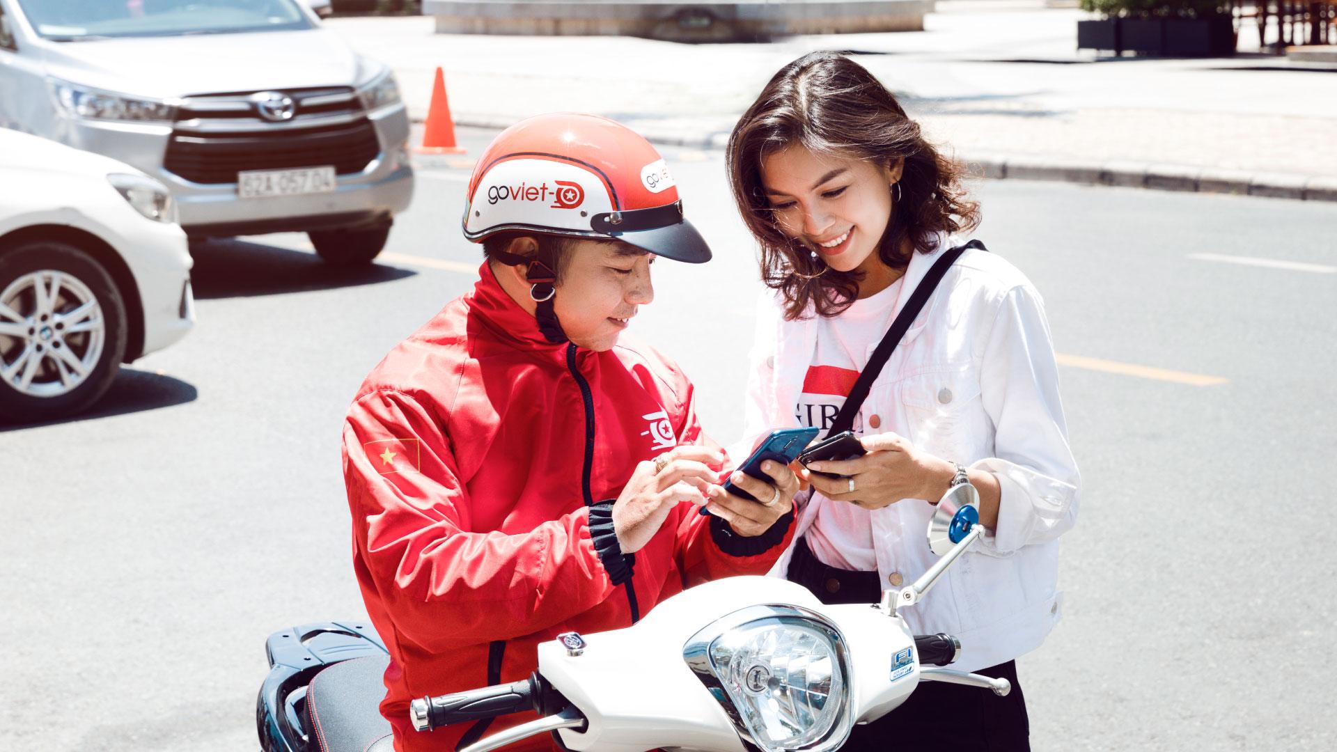 Sau 'siết thưởng' , Go-Viet tiếp tục giảm đảm bảo thu nhập các cuốc xe Go-Food
