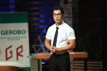 Thầy giáo dạy Toán gọi vốn nửa triệu USD tại Shark Tank Việt Nam
