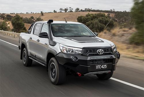 Mẫu bán tải Hilux - xe bán chạy nhất của Toyota tại Australia - thuộc các mẫu xe bị lỗi bộ lọc khí thải.