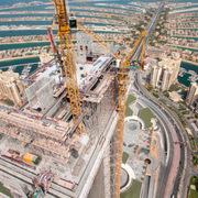 Dubai đang xây dựng hồ bơi vô cực cao bậc nhất thế giới