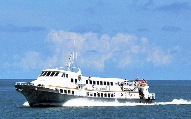 Đang điều tra nguyên nhân vụ cháy tàu khách cao tốc Superdong 3